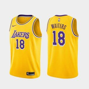 Los Angeles Lakers Dion Waiters Gold Jersey